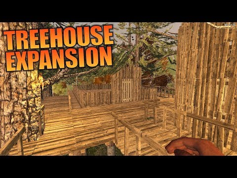 BUILDER QUEST DONE & TREEHOUSE EXPANSION | WotW MOD 7 Days to Die | Let's Play Gameplay | S02E19