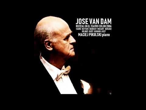 JOSE VAN DAM -  RECITAL EN EL TEATRO COLON - BUENOS AIRES 2006