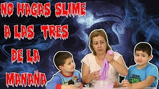 NO HAGAS SLIME A LAS 3 AM   DO NOT MAKE SLIME AT 3 AM   ALEX5GAMER