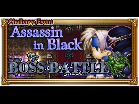 [FFRK] FFVI Assassin in Black - Shadow | Mobliz #128