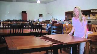 Statewide Furniture - Butterfly Leaf Table Demonstration