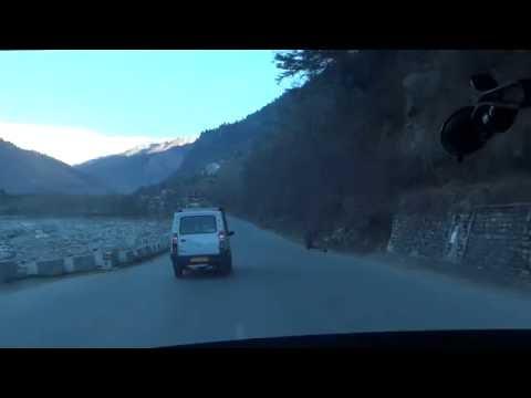 Manali City to Snow Point, Himachal Pradesh
