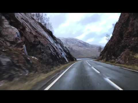 A87 Invergarry to Uig (Skye) entire length time lapse