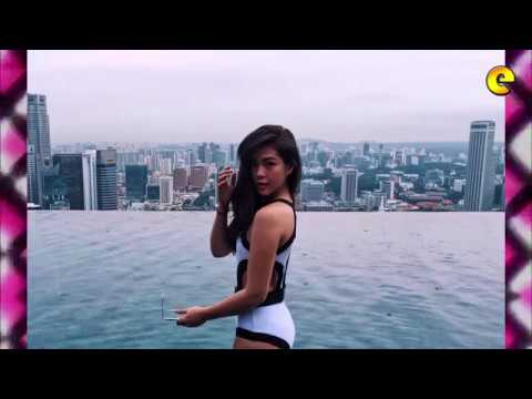 Janella Salvador Looks Sexy In Swimsuit In Singapore