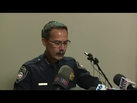 El Cajon Police Chief discusses officer-involved shooting.