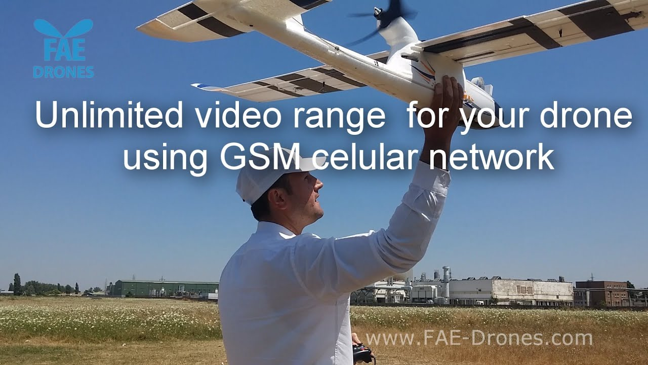 GSM 4G telemetry and video - unlimited range for your drone