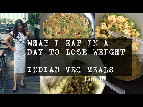 How to lose weight with Indian Vegetarian food at home | PCOS weight loss diet