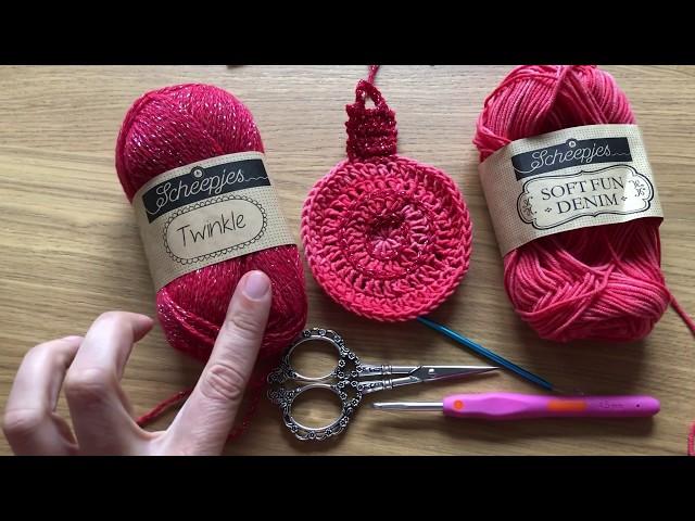 Haak Tutorial Kerstbal Hanger Haken Christmas Crochet Youtube