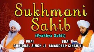 Bhai Guriqbal Singh, Bhai Amandeep Singh Ji - Sukhmani Sahib (Vyakhya Sahit)