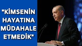 Erdoğan Bu sene sadece Kovid-19 virüsüyle değil İslam düşmanlığı ile de mücadele ettik
