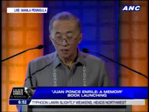 Lopez explains why ABS-CBN published Enrile