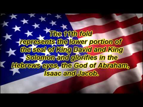 13 Folds Of The American Flag.wmv