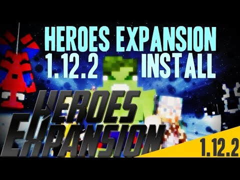 HEROES EXPANSION MOD 1 12 2 minecraft - how to download and install [a  superheroes mod 1 12 2]