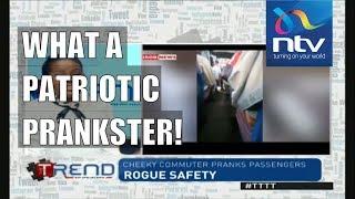 #TTTT || Cheeky commuter pranks other passengers