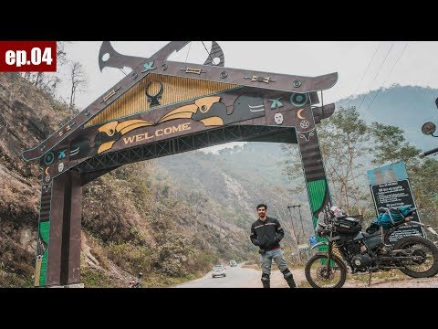 Dimapur to Kohima to Mokokchung | 210kms Ride | Tour of North East ep.04