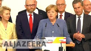 Angela Merkel on course for fourth term as Germany's chancellor
