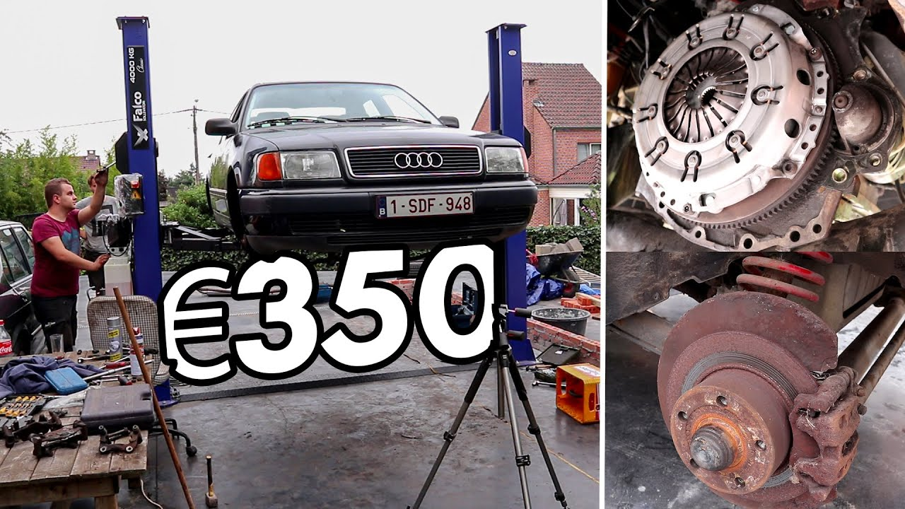Can We Rebuild This Audi 100 For €350?