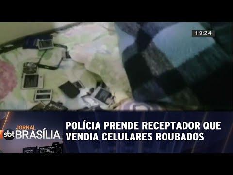 Polícia prende receptador que vendia celulares roubados