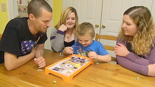 Family Game Night despicable me Minion Operation board game wins roblox blind bag / Junior Vision