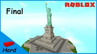 ROBLOX STUDIO SPEED BUILD / Statue of Liberty #2