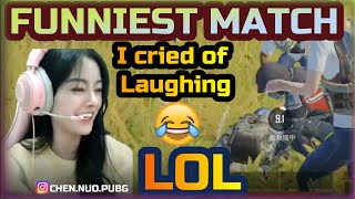 PUBG Mobile Funniest Moments with CHEN NUO | Sanhok Custom Room Fun