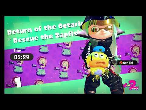 Splatoon 2 Story Mode Part 1~ The Lost Recording