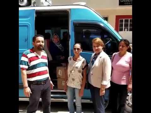 İhsan GÜLTEKİN mezitli ilçe başkanlığı seçim çalışmaları , mezitli kadın kolları