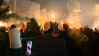 بالفيديو.. حرق مقر القنصلية السعودية بإيران