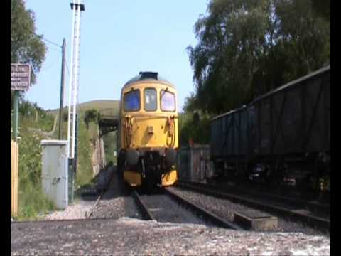 The Old Push n Pull  PushPull services return to the Swanage Branch