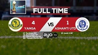 ALL GOALS: Yanga vs Ashanti United January 21 2017, Full Time 4-1