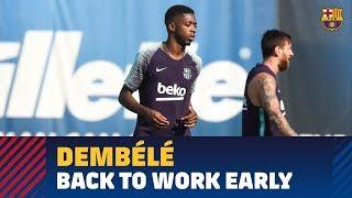 Dembélé is back!