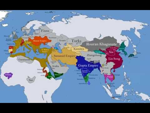 History of eurasia EVERY YEAR!!! (species homo sapiens)