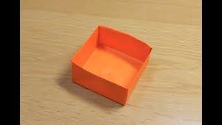 How to make box (origami) thumbnail