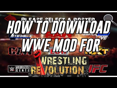 How To Download WWE Mods For Wrestling Revolution 2D (PC)