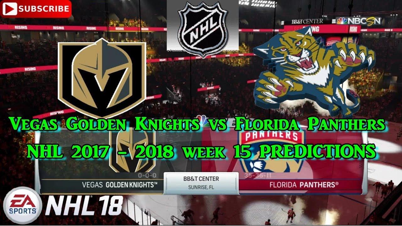 Vegas Golden Knights vs Florida Panthers  4064c756c797