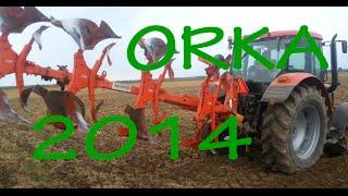 Orka 2014 Zetor Forterra 125 + pług KUHN Multi-Master 112