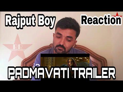 Padmavati official Trailer Reaction By Rajput Boy || deepika padukone, Ranveer singh, shahid kapoor|