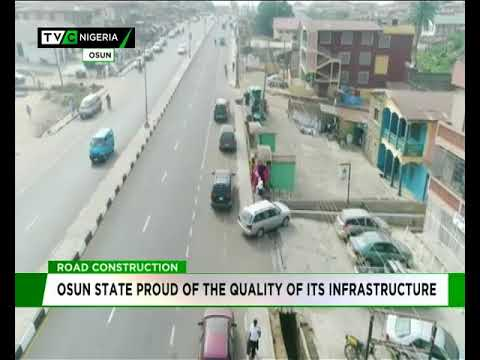 Osun proud of the quality of its infrastructure