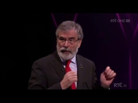 Gerry Adams - 2016 Leaders Debate
