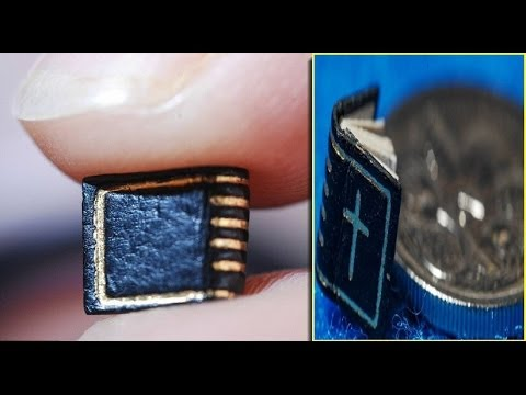 One of world's smallest BOOKS measures just 3.5mm and smaller than 5 cent coin