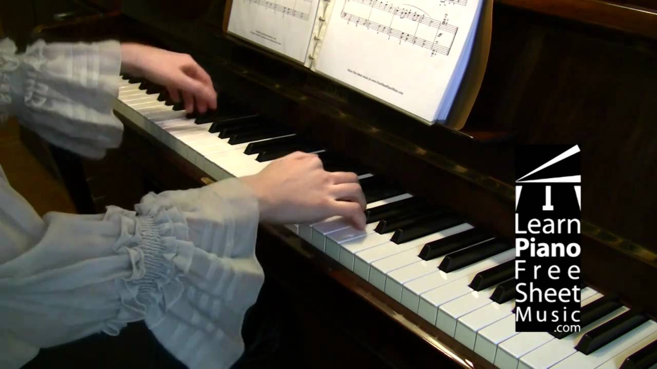Wedding March by MENDELSSOHN piano version