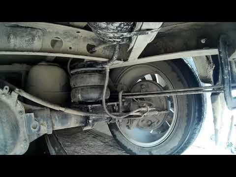 Впечатление от езды на УАЗ патриоте с пневмоподвеской, S- изгиб рессоры при разгоне.