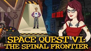 Space Quest VI: The Spinal Frontier - PC Game Review