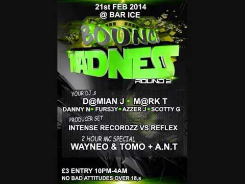 DJ DAMO BOUNCE MADNESS Dvb Productionz Forever Motion Mix !