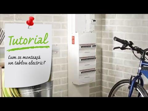 Cum se monteaza un tablou electric? Ghid video montare tablou electric Leroy Merlin Romania