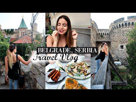 Ancient Castle & Delicious Vegan Food in Belgrade! Serbia Travel Vlog
