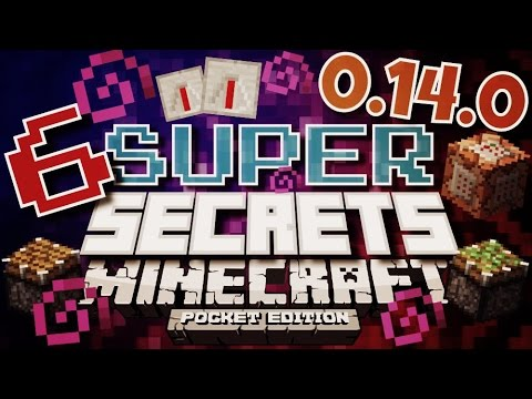 ✔️Minecraft PE 0.14 - SUPER SECRETS (Features & Changes) || Minecraft Pocket Edition [MCPE 0.14]