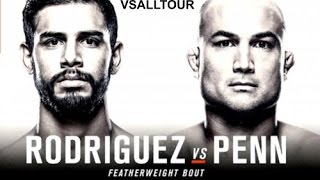 UFC Fight Night: Rodríguez vs. Penn / live by VSALLTOUR
