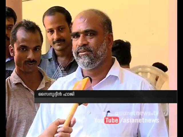 Election candidate Sainudeen haji has university exam before election | Kerala local election 2015