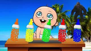 👶 Trò chơi cho bé chọn bình sữa phù hợp 👶Dạy bé học màu sắc 👶 Learning Color 👶